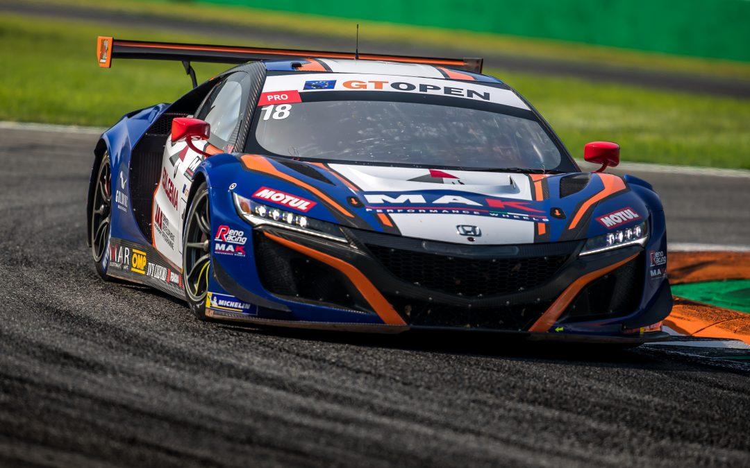Podio e pole sfiorata per Jacopo Guidetti nel GT Open a Monza