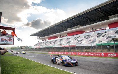 Jacopo Guidetti si conferma velocissimo anche al Mugello nel round finale del GT Sprint Italia