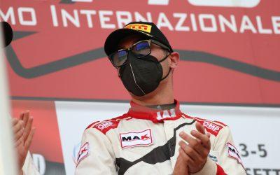 Jacopo Guidetti al Mugello per chiudere al top la stagione nel GT Sprint Italia